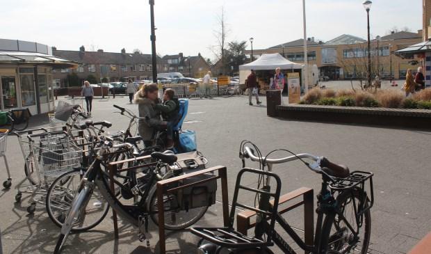De detailhandel in Maartensdijk zou de 'wildgroei' aan standplaatsen ingeperkt willen zien; ook op zaterdag (fotomoment).