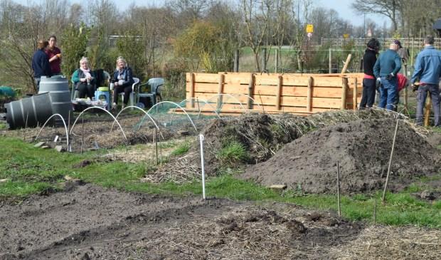 Dankzij een subsidie van de Provincie Utrecht kon De Biltse Biet een compostsilo aanschaffen.