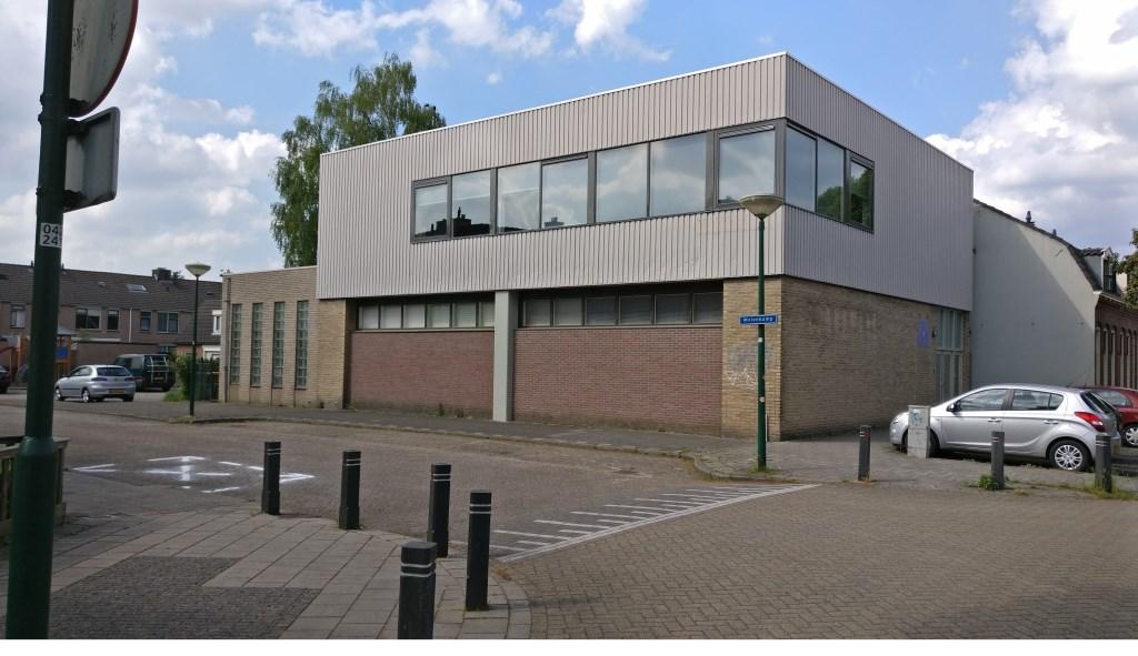 De Nieuwstraatgemeente VEG De Bilt op de hoek van de Molenkamp en de Nieuwstraat in De Bilt.  © De Vierklank