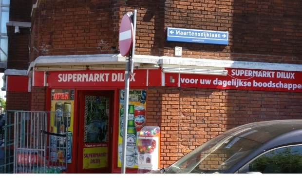 Supermarkt Dilux aan de Maartensdijklaan is 7 dagen in de week open.