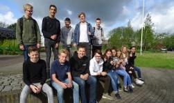 De leerlingen van Aeres VMBO Maartensdijk kijken uit naar de beroepenmarkt. Veel leerlingen weten nog niet welke kant zij uit willen en hopen op deze markt daarin houvast te vinden.
