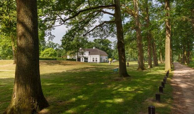 Landgoed Beerschoten met het paviljoen.