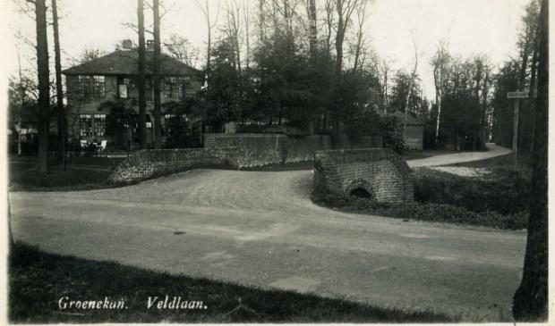 De plannen hebben betrekking op de plaats waar nu Villa Het Uilenest is gesitueerd. (foto uit digitale archief van Rienk Miedema).