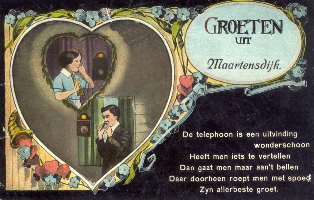 Groeten uit Maartensdijk  © De Vierklank