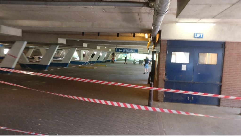 De huidige ondergrondse parkeergarage wordt momenteel heringericht. Foto: Saskia van Driel © De Vierklank