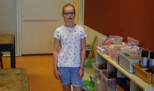 Louise gaat tweetalig onderwijs volgen aan het CLZ.