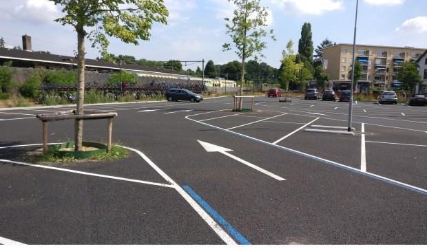 Vooralsnog wordt de 'driehoek' bij het station niet bij het volume-parkeren betrokken. Wel wordt er gekeken naar de mogelijkheden van het creëren van een stopplaats voor het openbaar vervoer.