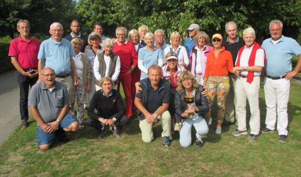 De teams van Coesfeld en Bilthoven.