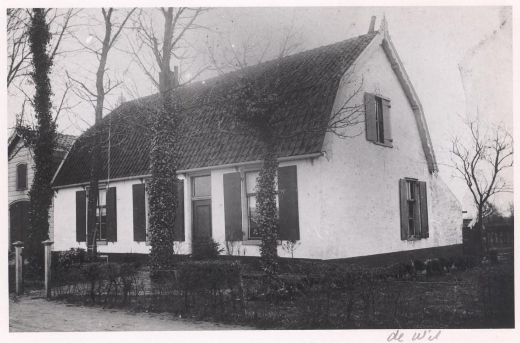 Dorpsweg 118 Bakkerij de Wit tot 1953 Hier begon grootvader in 1953.   © De Vierklank