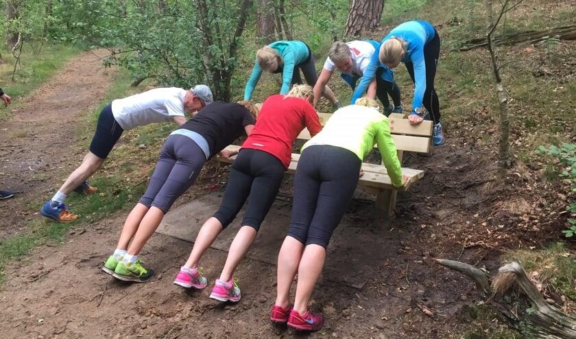 Trainen in groepsverband werkt stimulerend.