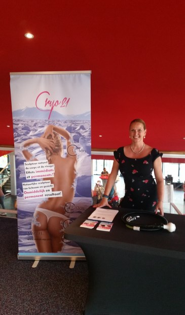 Marloes Boelema is enthousiast over Cryotherapie.