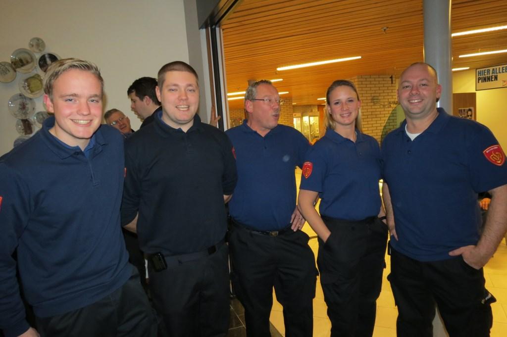De brandweer kende in de gemeente geen grote problemen tijdens de jaarwisseling.  © De Vierklank