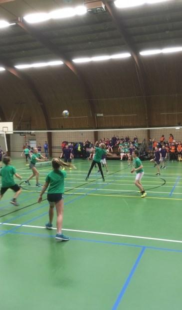 Onderlinge ontmoetingen van groepers acht in der Biltse Sporthal.