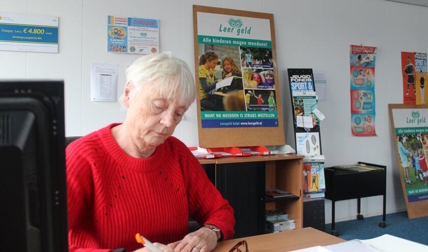Jeannette Katgert: 'Leergeld De Bilt zoekt vrijwilligers'.