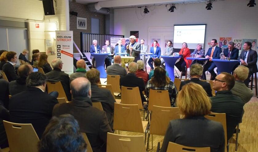Woensdag 6 februari organiseerden politieke partijen uit De Bilt gezamenlijk een provinciaal verkiezingsdebat in De Vierstee in Maartensdijk. Voor veel geïnteresseerden een goede gelegenheid kennis te maken met lijsttrekkers en de standpunten van hun partij..