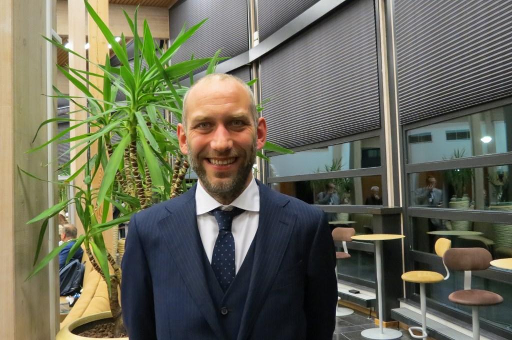 Het nieuwe gemeenteraadslid Erik den Hertog.