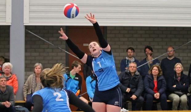 Irene speelt haar beste wedstrijd van het seizoen.