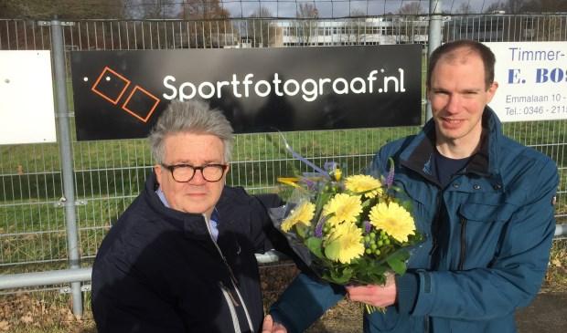 Sportfotograaf Jeroen Kemp bordsponsor