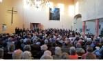 Schütz Projectkoor neemt glorieus afscheid van dirigent