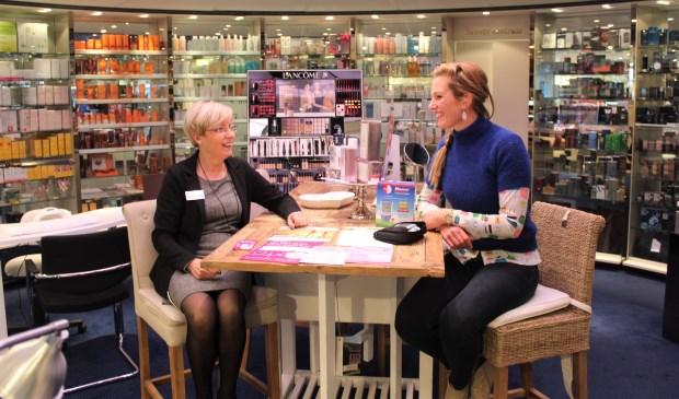 Jannie van Rossum (links) en Nathalie Schaafsma zijn er klaar voor.