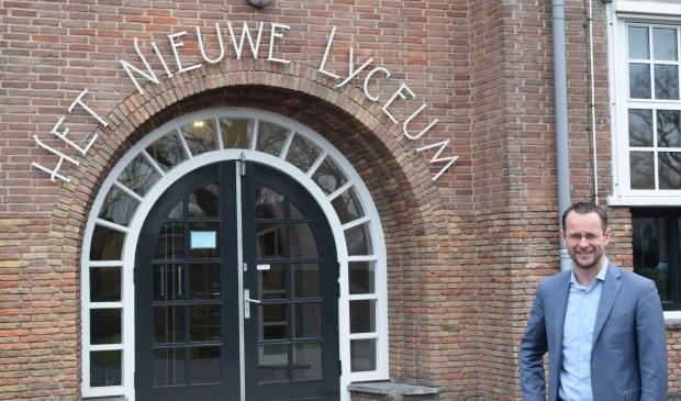 Na zeven jaar vertrekt Dick Frantzen bij Het Nieuwe Lyceum.