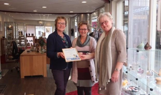 PCB Uitvaartwinkel Bilthoven is trots op het behaalde certificaat.