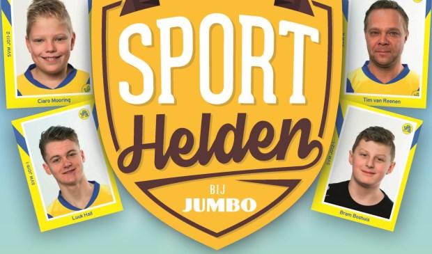 Lokale Sporthelden bij Jumbo Maartensdijk