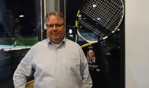 Voorzitter Sander Maatman is heel blij met alle vrijwilligers.