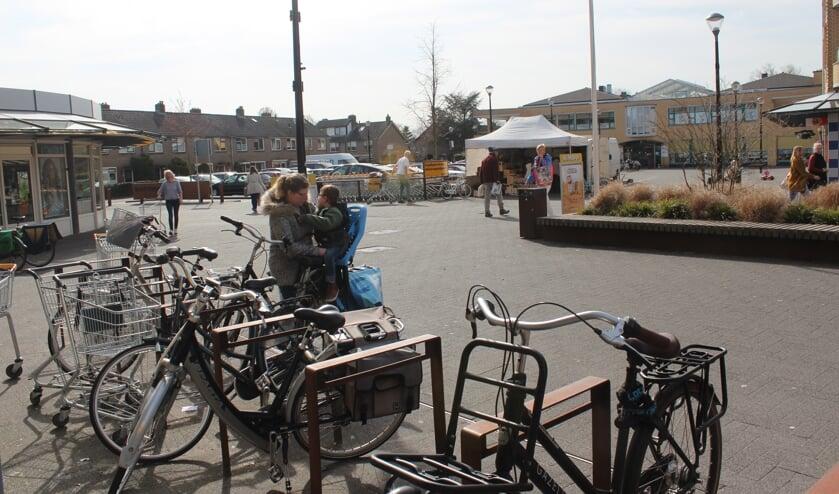 De winkeliersvereniging Maertensplein (Maartensdijk) heeft geen behoefte aan een actieplan. [foto Henk van de Bunt]