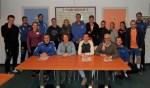 Trainers selectie DOS ondertekenen contract