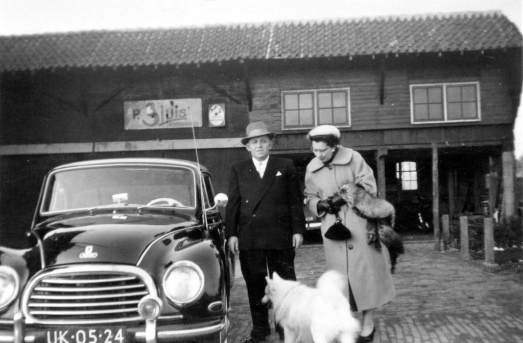 Het echtpaar Hirsch-Lewin na 'de oorlog'. (foto Karien Scholten uit nalatenschap Wout van Winssen)  © De Vierklank