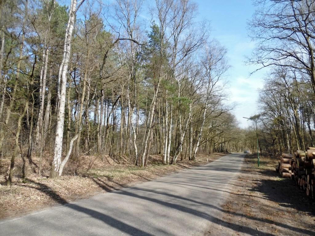 De grens kruistte de spoorlijn en het viaduct van de A27 (tegenwoordig Egelshoek genoemd) en loopt vervolgens een kilometer langs Vuurse Dreef om dan naar het noordoosten af te buigen   © De Vierklank
