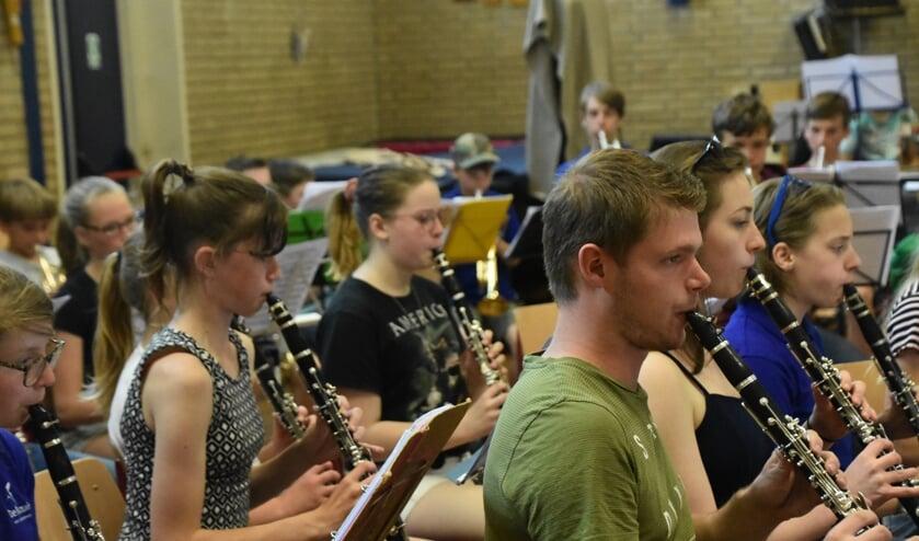 Ook bij klarinetten baart oefening kunst.