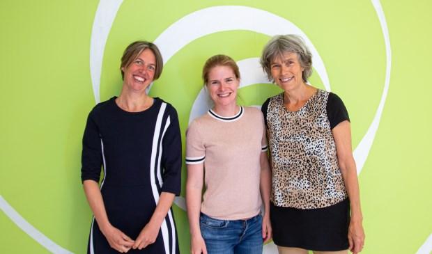 V.l.n.r. Jeanine Pothuizen, Judith Verbeek en Marieke van Nimwegen.