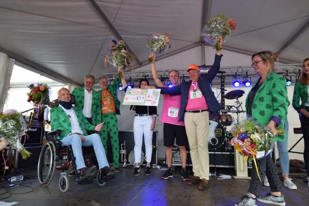 De vele deelnemers haalden uiteindelijk 210.000 euro op.  © De Vierklank