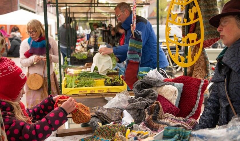 Op de Biltse streekmarkt tref