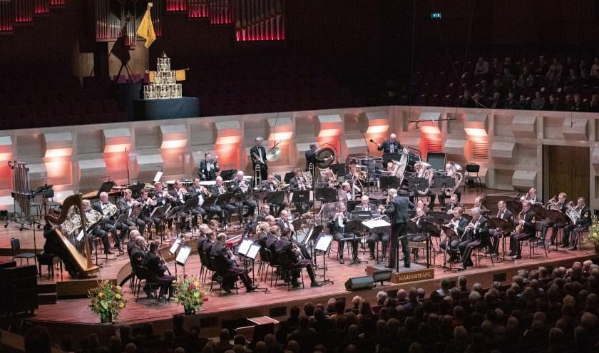 Rotterdam, 21 november 2018Korpsconcert Marinierskapel in de Rotterdamse Doelen.