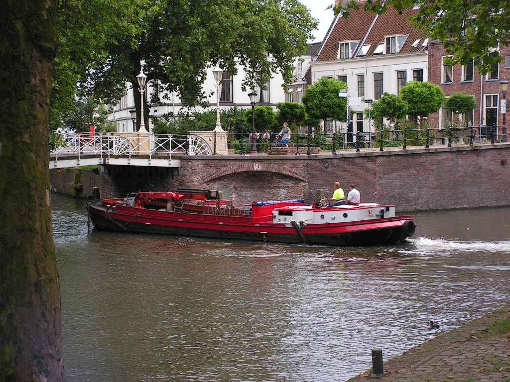 De Utrechtse 'bierboot'  © De Vierklank