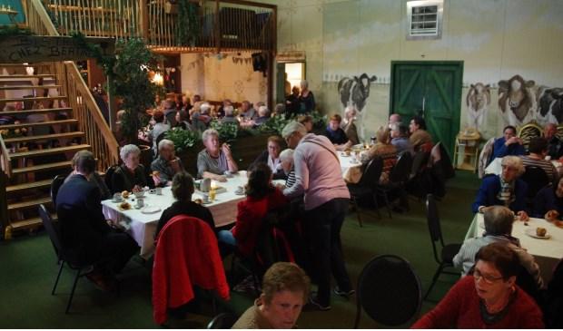 lunch Italiaans aan het lapdancen in Zaltbommel