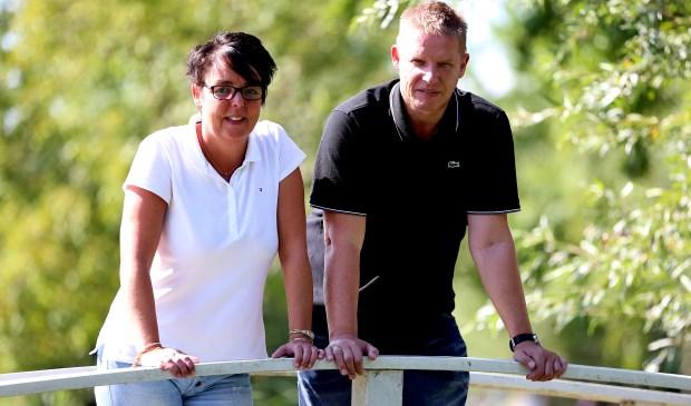 • Corine de Lange en Johan Verbiezen. Foto: Rick den Besten
