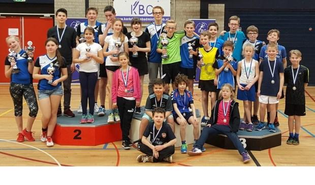 Jeugdkampioenen badminton in kerkdriel bommelerwaard