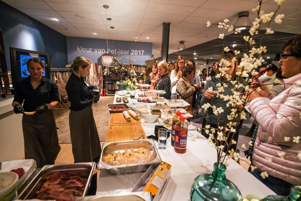 Leerdam - Ladies night bij Van der Wal Interieurs