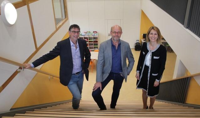 • V.l.n.r. Egon van Erven, John Leijdekkers en Anita Sørensen.