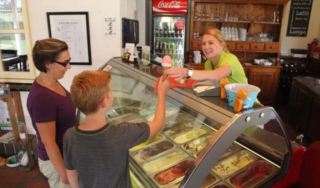 • Een lekker ijsje: wie houdt daar nou niet van?