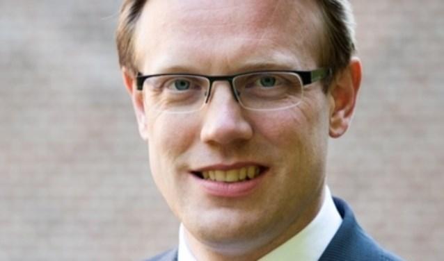 • Wethouder Peter Verheij.