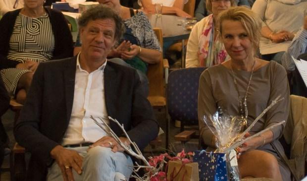• Frans Welschen en zijn vrouw.