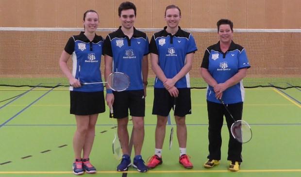 Vianen - Badminton Club Vianen kampioen Badminton Tilburg