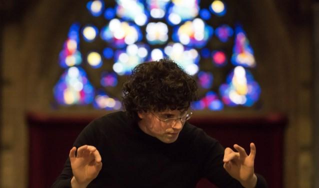 • Rienk Bakker is cantor en organist in de Grote Kerk.