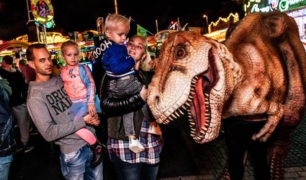 • Vrijdagavond was het genieten geblazen van de Dino Experience.