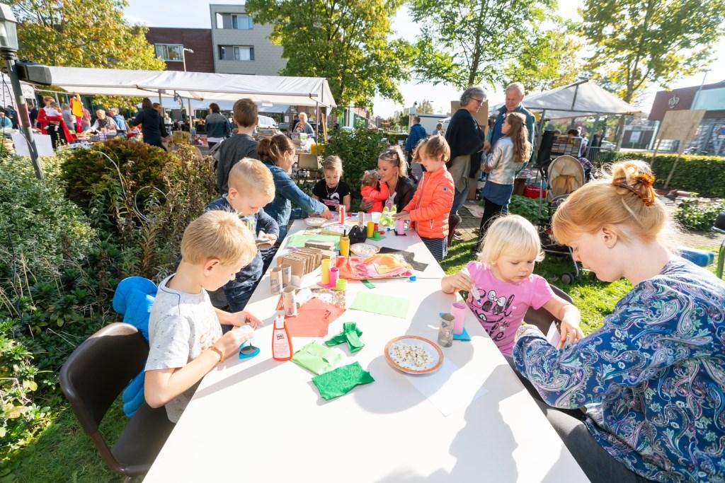 Rommelmarkt voor 5 jarige Daniël Foto: Nico Van Ganzewinkel © Leerdam